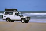 beach vehicle poster
