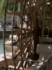 maurisches wasserrad in tomar