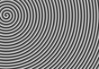 black & white spiral background
