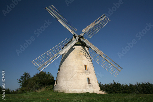 Leinwanddruck Bild windmühle