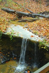 runoff waterfall