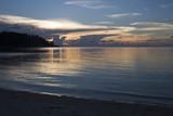 beach sunset - purity poster