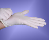 surgical gloves poster