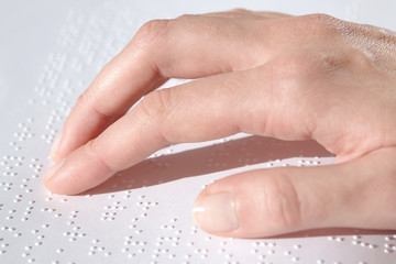 braille text reading