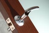 handle of modern door poster