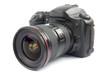 Leinwandbild Motiv professional digital camera