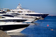 luxury yachts on the red sea
