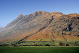 mountains hills fells the english lake district cu poster