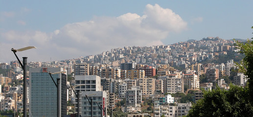 cityscape of beirut lebanon