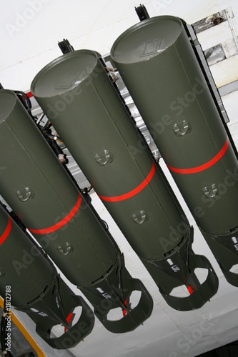 ww2 aerial depth charges плакат