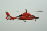 red coast guard helicopter poster