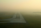 runway in the fog poster