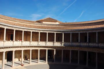 carl v. palast in alhambra, granada