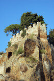 cori castle, italy poster