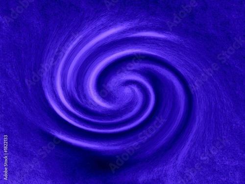 Aluminium Spiraal spirale bleue