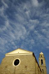 église de bonifacio (corse) france