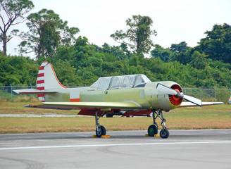 soviet built acrobatic airplane