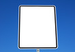 blank sign for text