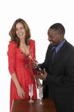 romantic couple celebrating with wine 14 poster