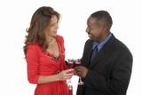 romantic couple celebrating with wine 8 poster