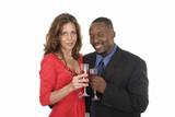 romantic couple celebrating with wine 11 poster