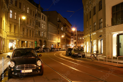 old berlin at night