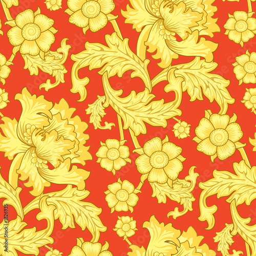 vintage wallpaper. seamless vintage wallpaper