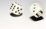 rolling dice with move effect poster