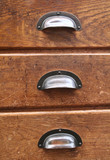 three drawers poster