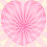 valentine heart in pastels poster