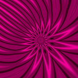 magenta floral burst abstract poster