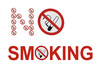 isolated no smoking