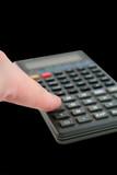 advanced scientific calculator with finger poster