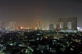 bangkok at night poster