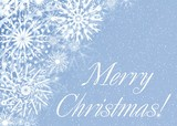 merry christmas. card poster