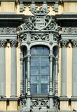 ornamental window in spain poster