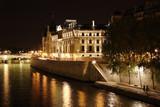 Fototapety conciergerie vue de nuit - paris