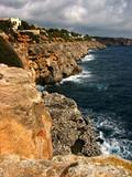 cliffs of mallorca poster