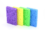 colorful sponges poster