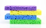 colorful sponge stack poster