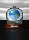 fragil globe poster