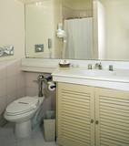 hotel bathroom poster