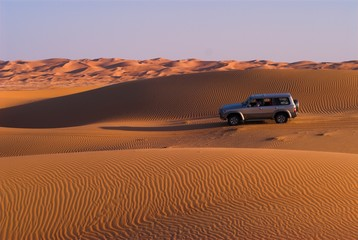 evening rush in liwa