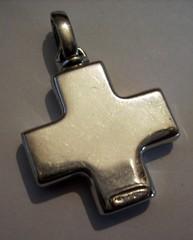 maltese silver cross