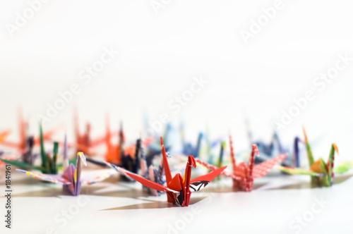 Papiers peints Cygne origami
