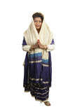 traditional indian clothing full body poster