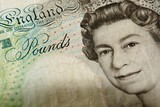 british pounds poster