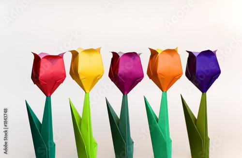 kwiaty-origami