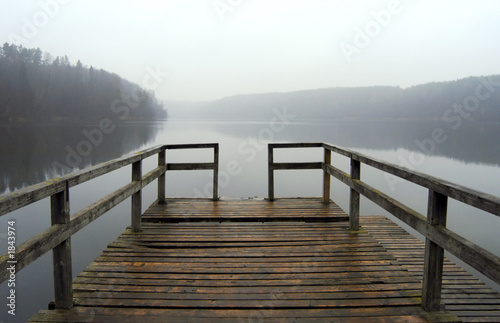 pier on the lake - 1843974