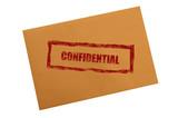 confidential envelope poster